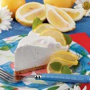 Lemon Yogurt Cream Pie