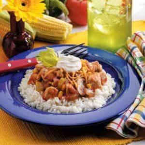 Salsa Chicken Skillet