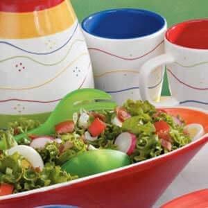 Garden Lettuce Salad