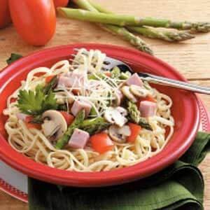 Asparagus Pasta Primavera