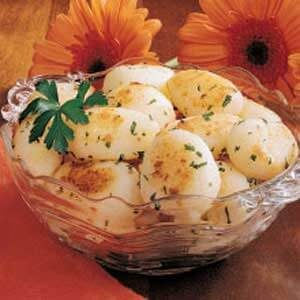 Garlic Potato Balls