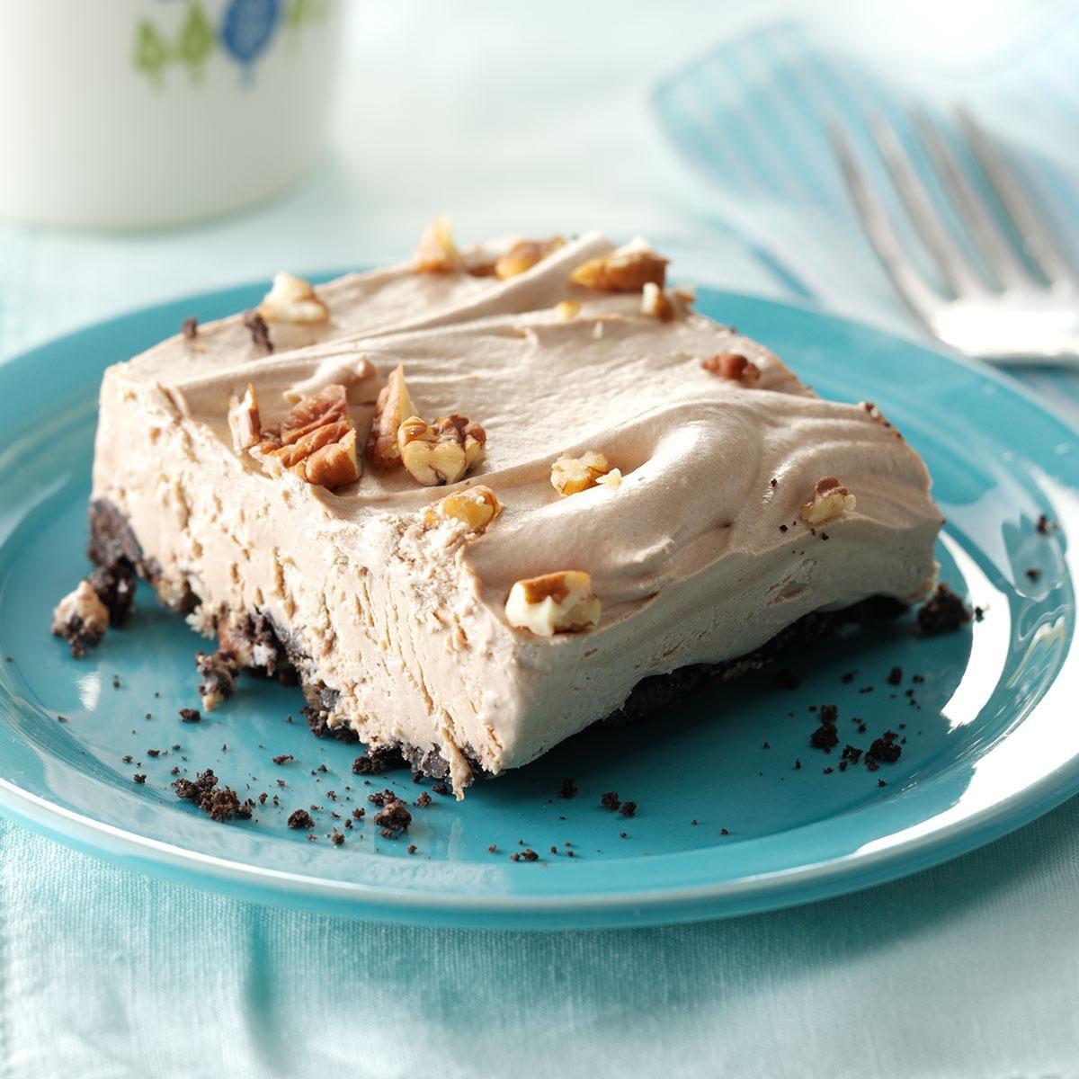 Creamy Mocha Frozen Dessert Recipe