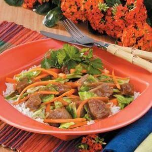 Asian Pork Cabbage Stir-Fry