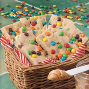 Candy Chip Bar Cookies