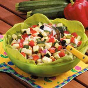 Heavenly Zucchini Salad