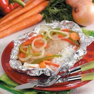 Veggie Chicken Packet