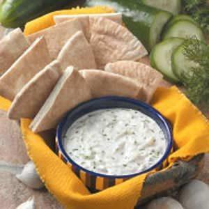 Garlic Cucumber Dip