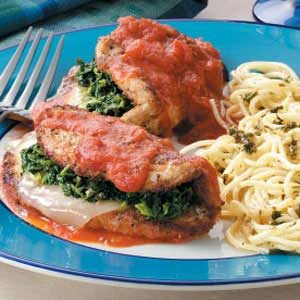 Stuffed Turkey Florentine