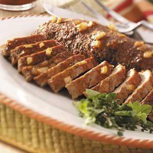 Honey-Herb Pork Tenderloin