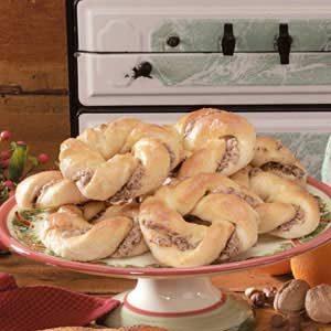 Orange-Hazelnut Breakfast Twists
