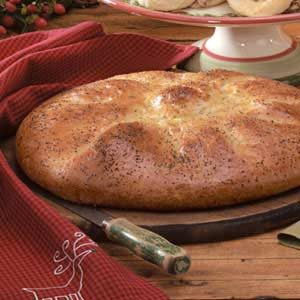 Herbed Mozzarella Round