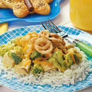 Cheesy Chicken Supper