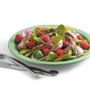 Grilled Sirloin Salad