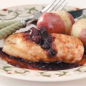 Cranberry Skillet Chicken