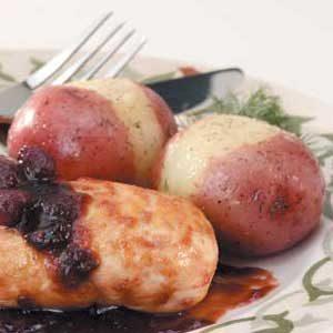 Horseradish Dill Potatoes