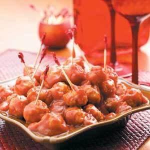 Tangy Pork Meatballs