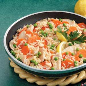 Fast Lemon Chicken and Rice