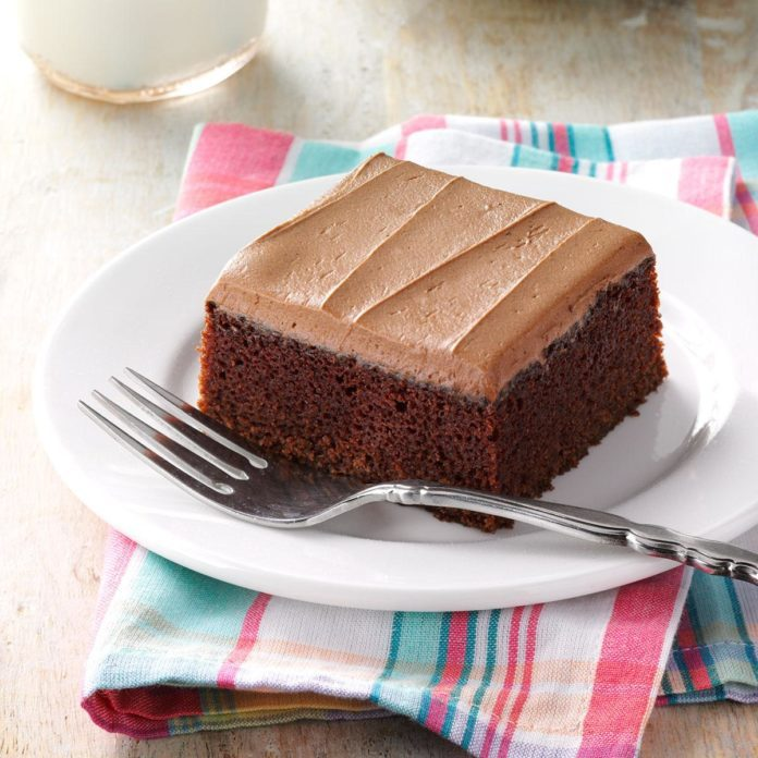 Mocha Frosted Snack Cake