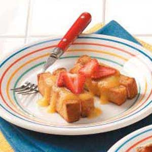 Jazzed-Up French Toast Sticks