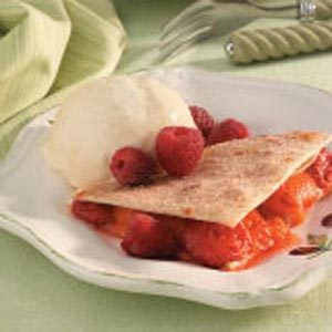 Fruit Filled Quesadillas Recipe