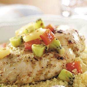 Tropical Lime Chicken