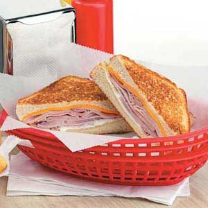 Grilled Ham 'n' Jack Cheese