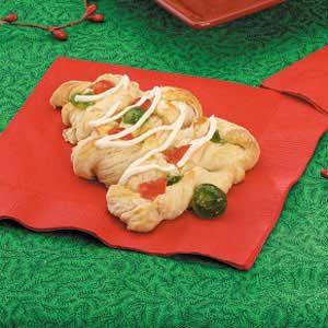 Christmas Tree Danish Pastries