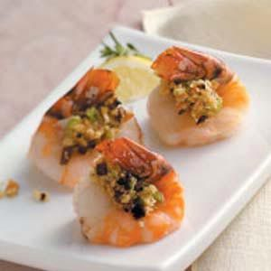 Shrimp with Mushrooms