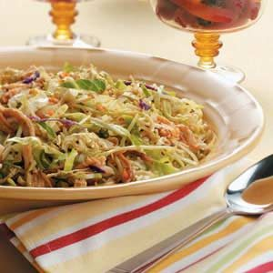 Zippy Chicken Coleslaw