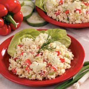 Cucumber Couscous Salad