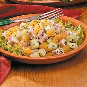 Peach Chicken Salad