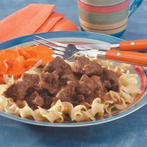 Sauerbraten Stew