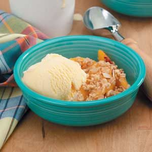 Easy Peaches 'n' Cream Crisp