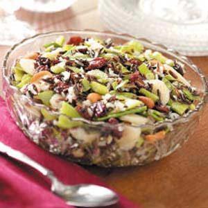 Cherry Wild Rice Salad
