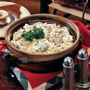 Sausage 'n' Noodle Dinner