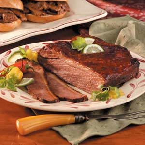 Barbecue-Style Beef Brisket