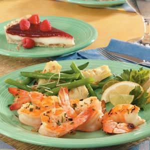 Onion Tarragon Shrimp