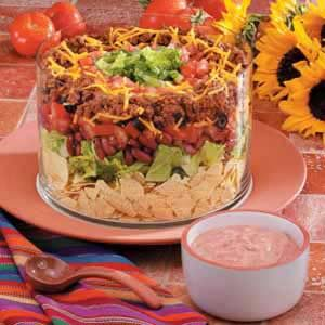 Three-Step Taco Salad