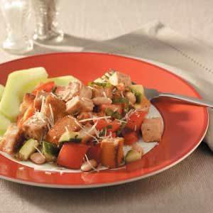Chicken Bread Salad