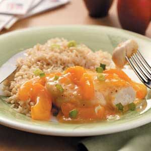 Apricot Chicken Breasts