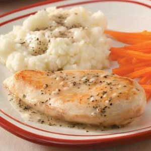 Garlic Chicken 'n' Gravy