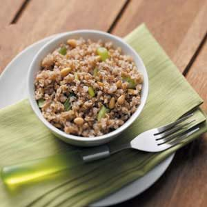 Bulgur with Pine Nuts