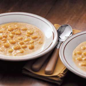 Squash Hominy Soup