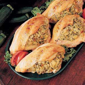 Squash-Stuffed Chicken