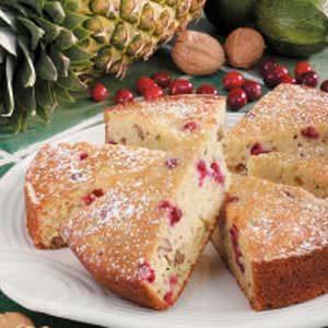 Cranberry Zucchini Wedges