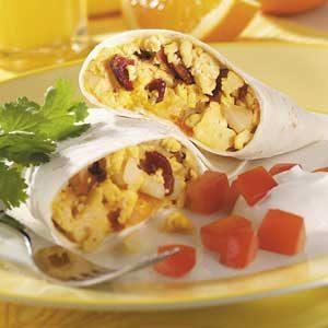Bacon 'n' Egg Burritos