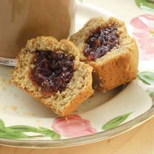 Peanut Butter 'n' Jelly Muffins