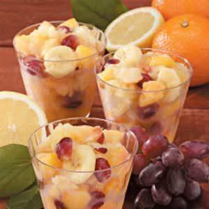 Frozen Fruit Salad Slush