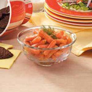Mustard-Glazed Carrots