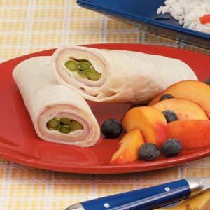 Asparagus Ham Wraps